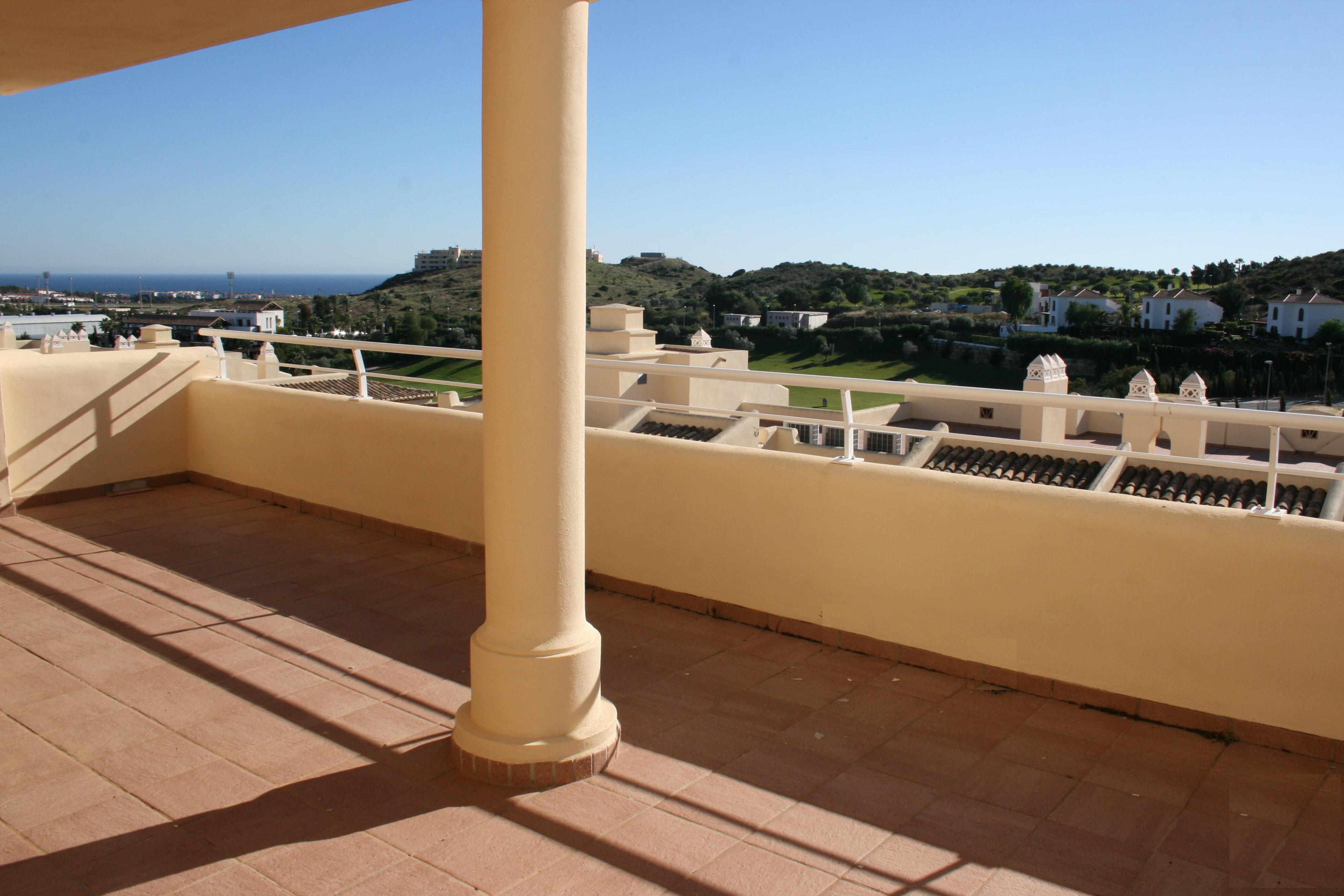 3 slaapkamers met grote terrassen